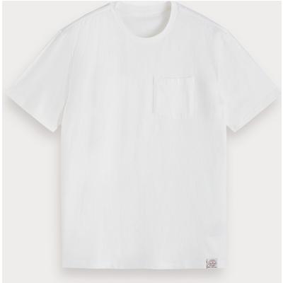 Scotch & Soda T-Shirt aus Baumwollleinen