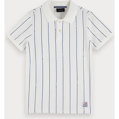 Scotch & Soda Gemustertes Poloshirt