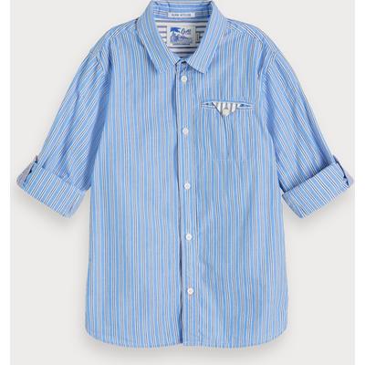 Scotch & Soda Gestreiftes Shirt, Regular Fit