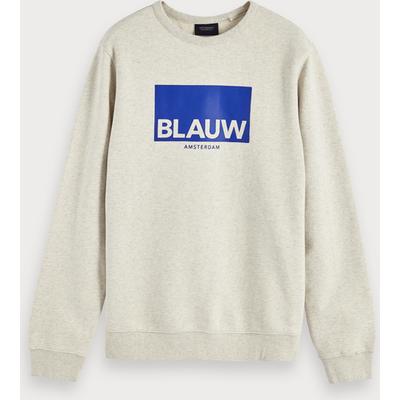 """Scotch & Soda Sweatshirt mit """"Blauw""""-Artwork"""