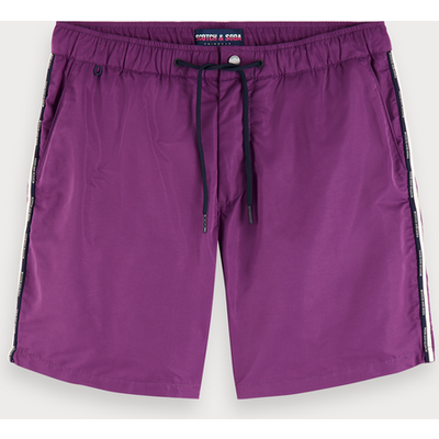 Scotch & Soda Badeshorts mit Logo-Tape