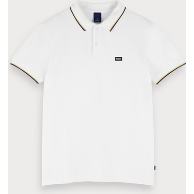 Scotch & Soda Kontrast-Poloshirt