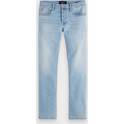 Scotch & Soda Ralston – Paint it Blauw, Regular Slim Fit
