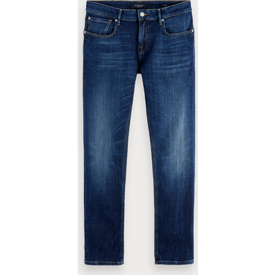 Scotch & Soda Tye – Icon Blauw, Slim Carrot Fit