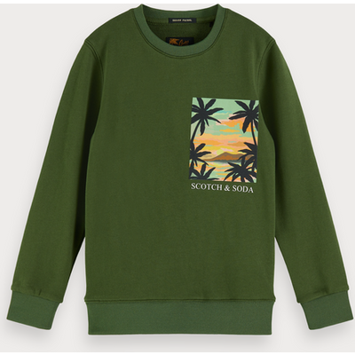 Scotch & Soda Hawaii Postcard Sweatshirt