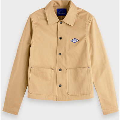 Scotch & Soda Workwear-Jacke aus Twill