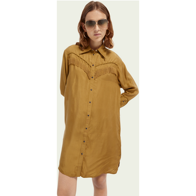 Scotch & Soda Hemdkleid im Western-Stil | SCOTCH & SODA SALE