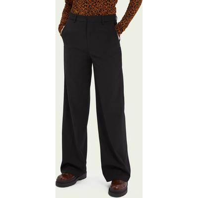 Scotch & Soda Edie High-Rise Hose mit weitem Bein aus recycelter Polyestermischung | SCOTCH & SODA SALE