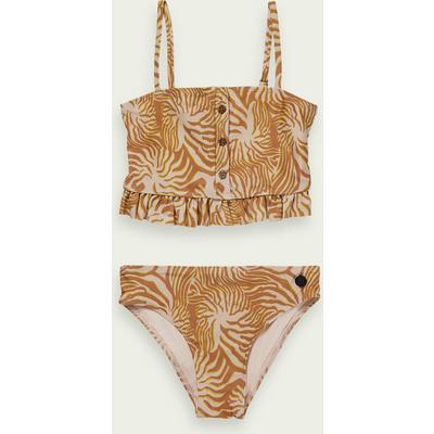 Scotch & Soda Bikini aus ECONYL mit länger geschnittenem Top | SCOTCH & SODA SALE