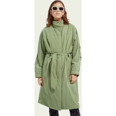 Scotch & Soda Leichter Parka mit Gürtel | SCOTCH & SODA SALE