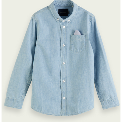 Scotch & Soda Chambray-Shirt aus Baumwolle im Regular Fit | SCOTCH & SODA SALE