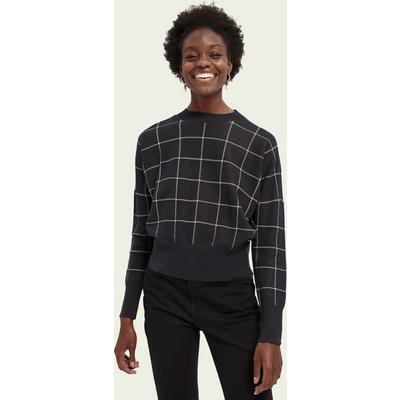 Scotch & Soda Oversize-Sweatshirt mit Jacquard-Muster   SCOTCH & SODA SALE