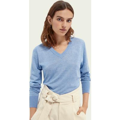 Scotch & Soda Leichter Pullover mit V-Ausschnitt | SCOTCH & SODA SALE