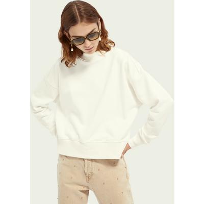 Scotch & Soda Sweatshirt aus Baumwollmischung mit Rundhalsausschnitt   SCOTCH & SODA SALE