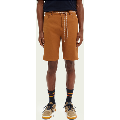 "Scotch & Soda ""Garment-Dye""-Shorts aus Twill im 5-Pocket-Design   SCOTCH & SODA SALE"