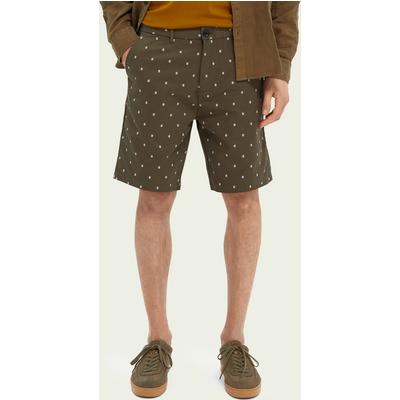 Scotch & Soda Stuart – Bedruckte Chino-Shorts aus Baumwollmischung   SCOTCH & SODA SALE
