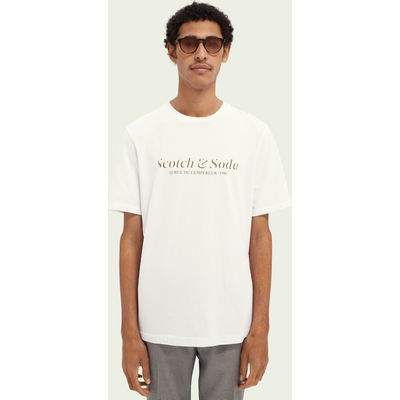 Scotch & Soda T-Shirt mit Logo aus Baumwoll-Jersey | SCOTCH & SODA SALE