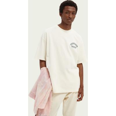 Scotch & Soda Grafik-T-Shirt im Loose Fit aus Baumwolle | SCOTCH & SODA SALE