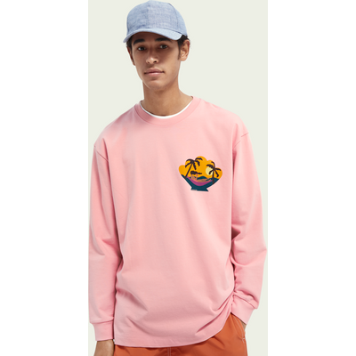 Scotch & Soda Oversize-Sweatshirt aus Baumwolle mit Grafik | SCOTCH & SODA SALE