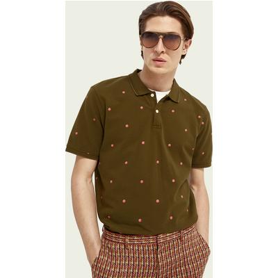 Scotch & Soda Poloshirt mit Print aus Baumwolle   SCOTCH & SODA SALE