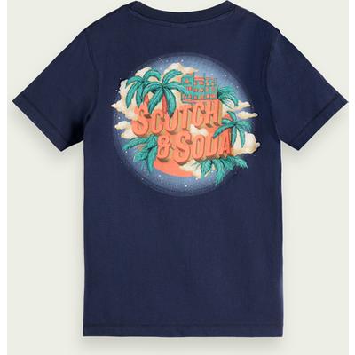 Scotch & Soda T-Shirt aus Bio-Baumwolle mit Artwork-Print | SCOTCH & SODA SALE