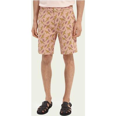Scotch & Soda Stuart– Bedruckte Chino-Shorts aus Pima-Baumwolle   SCOTCH & SODA SALE