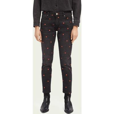 Scotch & Soda Petit Ami Low-Rise Slim-Leg Boyfriend Jeans– Evening Star   SCOTCH & SODA SALE