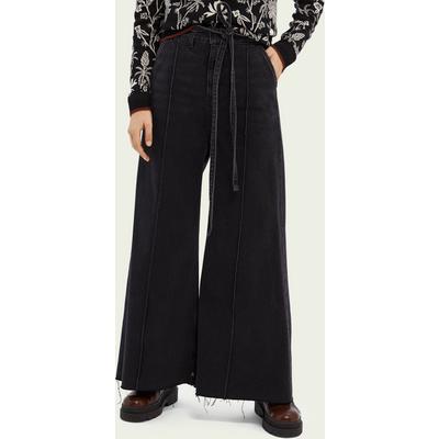 Scotch & Soda High-Rise Extra-Wide Leg Jeans – Black Butter   SCOTCH & SODA SALE