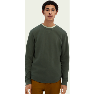 Scotch & Soda Strickpullover aus Bio-Baumwolle mit Waffelstruktur | SCOTCH & SODA SALE