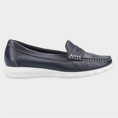 Hush Puppies Paige Slip On Loafer in Blue