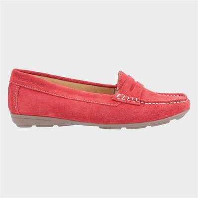 Hush Puppies Margot Slip On Loafer in Red