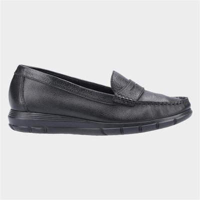 Hush Puppies Paige Slip On Loafer in Black