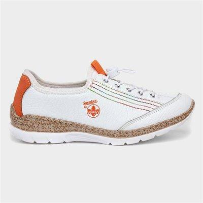 Rieker Womens Casual Shoe in White