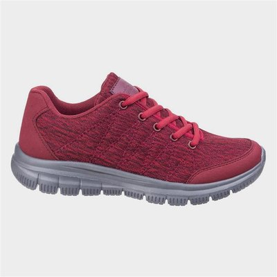 Fleet And Foster Womens Elanor Trainer in Red
