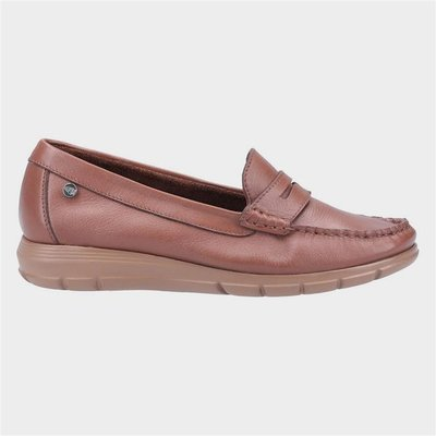 Hush Puppies Paige Womens Loafer in Brown