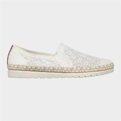 Skechers Flexpadrille Summer Siesta in White