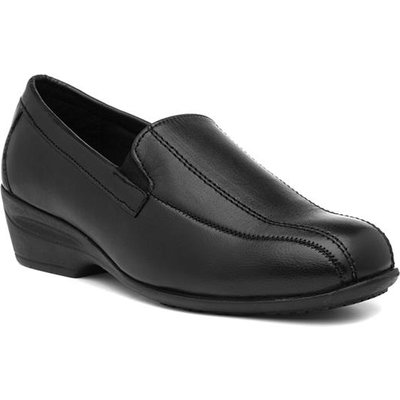 Comfort Plus Erica Womens Leather Wide Fit Shoe