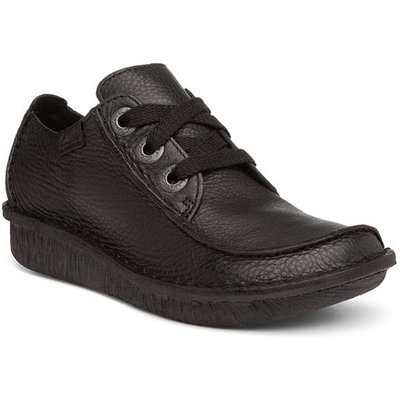 Clarks Funny Dream Womens Black Lace Up Shoe