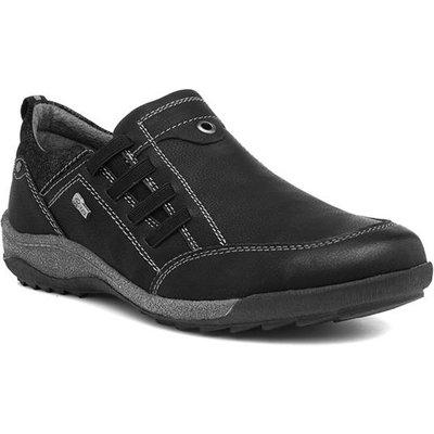 Relife Women's Black Wide Slip On Shoe