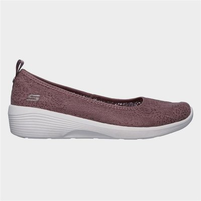 Skechers Arya Airy Days Slip On Shoe in Purple