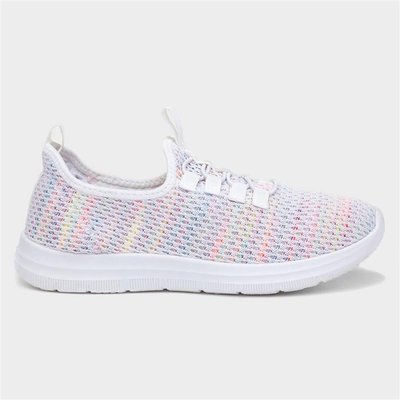 Lilley Womens Multi-Colour Speed Lace Trainer
