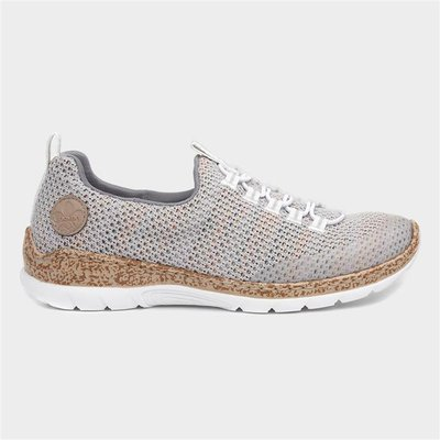 Rieker Womens Multi Colour Knitted Shoe