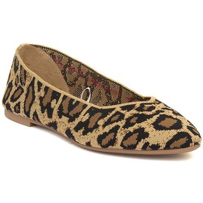 Skechers Cleo Claw-Some Womens Leopard Print Shoe