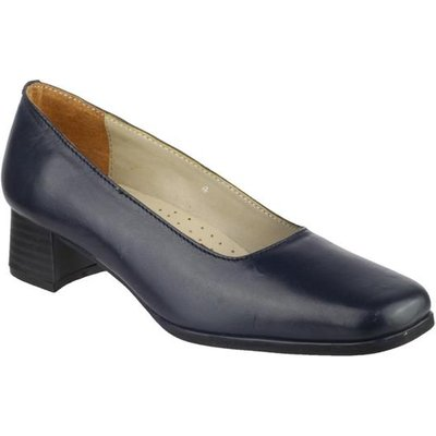 Amblers Womens Walford Leather Court in Blue
