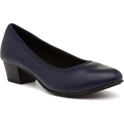 Jana Softline Womens Navy Court Shoe