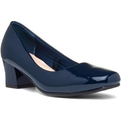 Comfort Plus Karly Womens Navy Wider Fit Shoe
