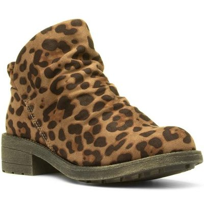 Rocket Dog Tami Womens Brown Leopard Ankle Boot