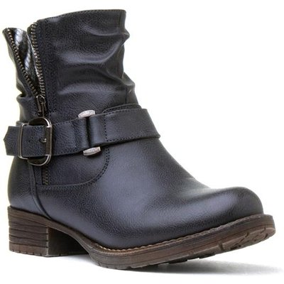 Lilley And Skinner Womens Navy Ankle Boot