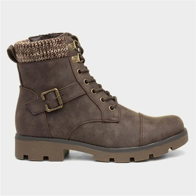 Lilley And Skinner Womens Ankle Brown Boot
