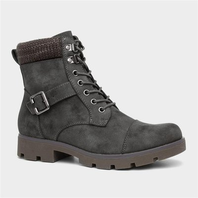 Lilley And Skinner Womens Ankle Boot in Grey